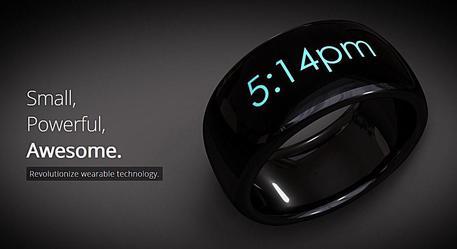 """""""Smart ring"""": l'anello che riceve le notifiche di smartphone e tablet (VIDEO)"""