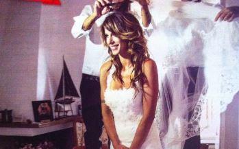 Elisabetta Canalis: l'abito da sposa messo all'asta. Vale 15mila euro