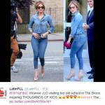 Jennifer Lopez torna a visitare la sua vecchia casa nel Bronx (FOTO)