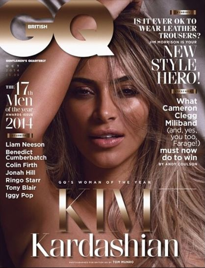 Kim Kardashian posa nuda per GQ UK (FOTO)