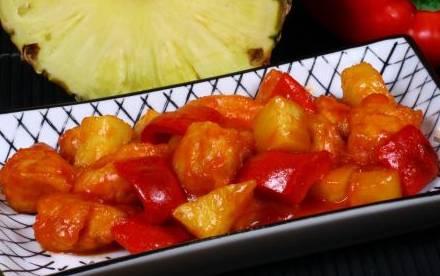 Ricette di carne: pollo in salsa agrodolce con ananas