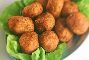 Finger food: polpettine di baccalà