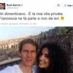 Rudi Garcia: Francesca Brienza è la sua fidanzata. L'annuncio su Twitter (FOTO)