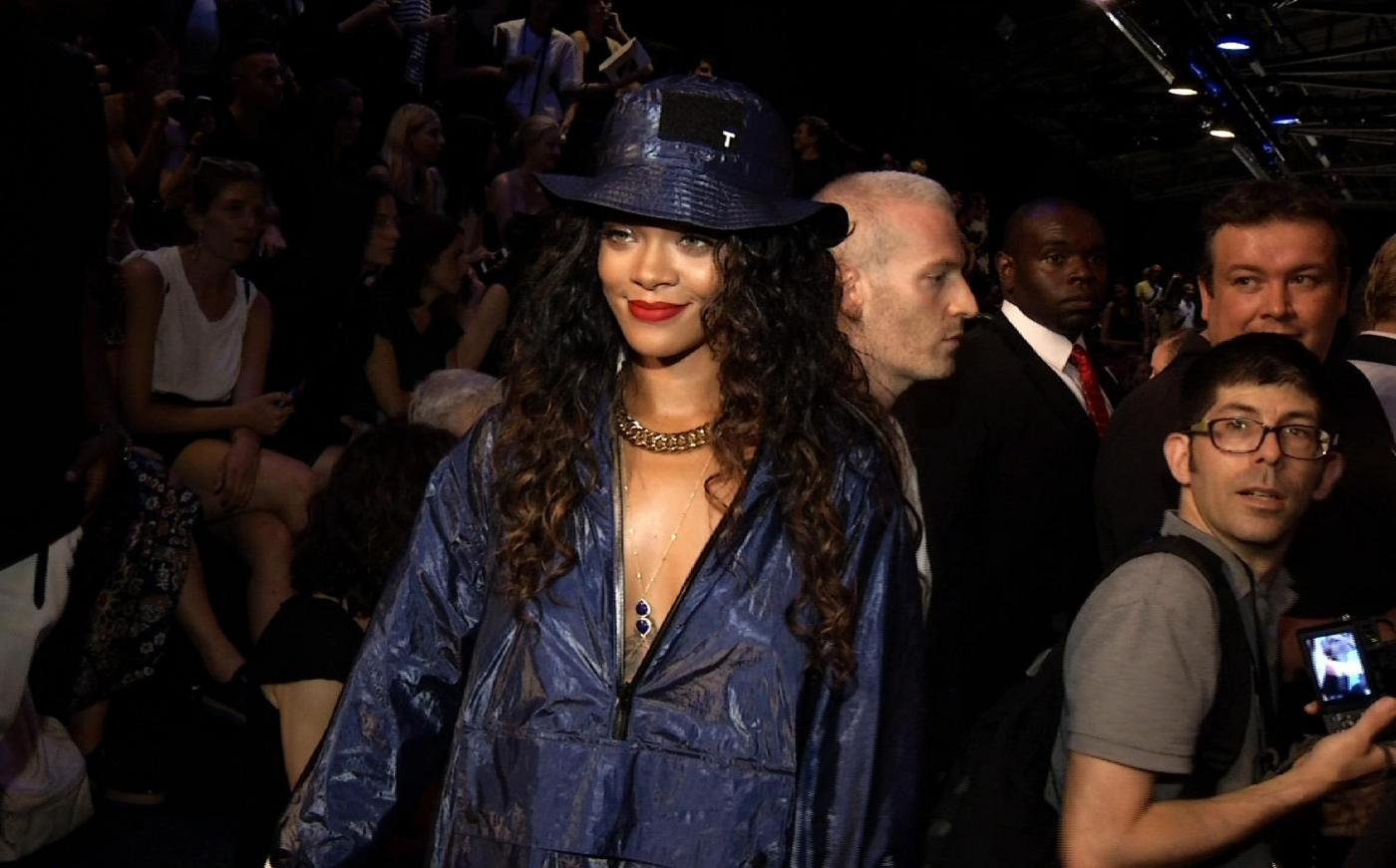 New York Fashion Week: sfilata Alexander Wang, special guest Rihanna (FOTO)