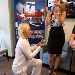 Tennis, Martina Navratilova chiede la mano alla storica fidanzata Julia Lemigova02