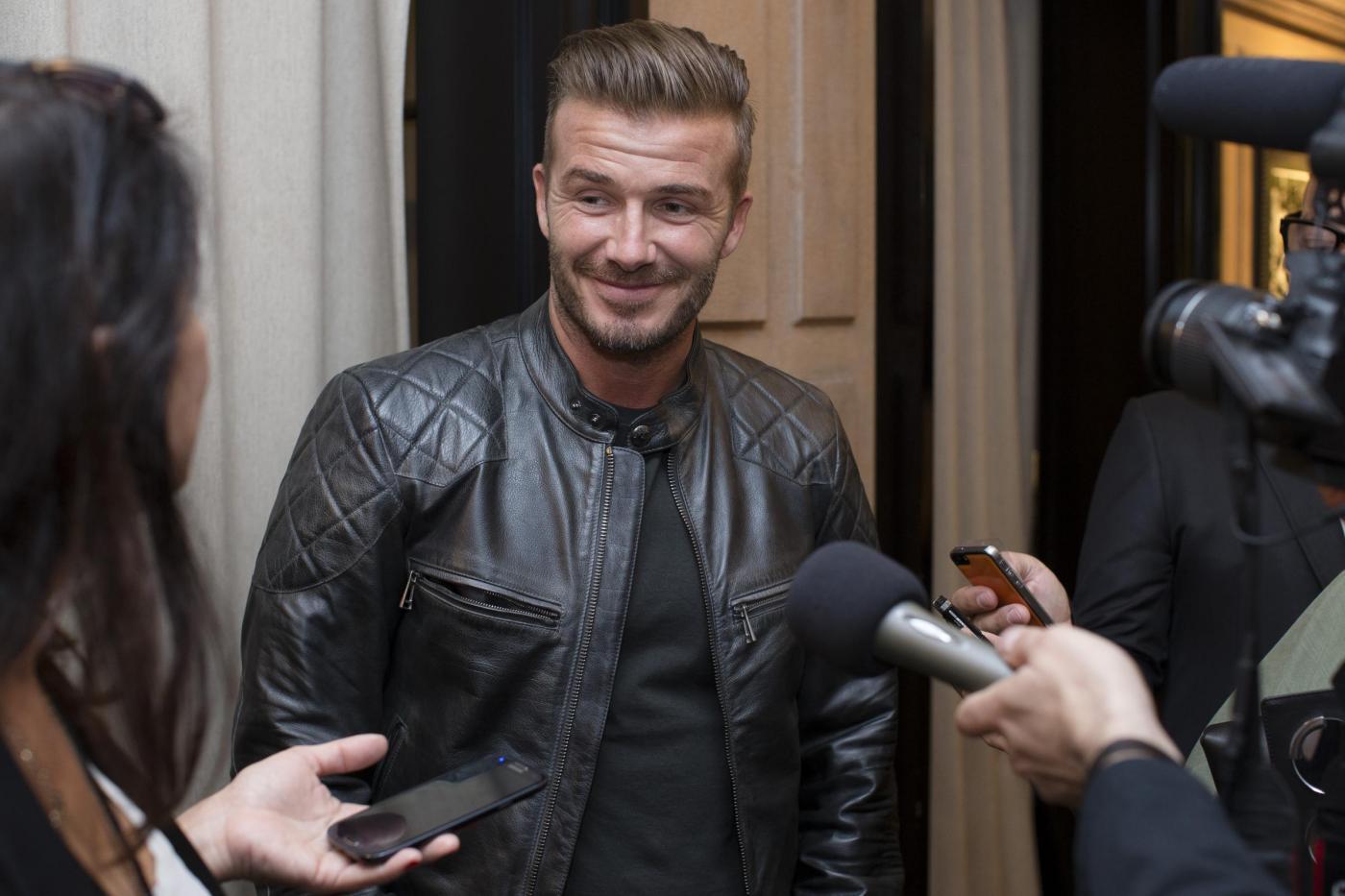 """David Beckham: """"orgoglioso"""" del successo di Victoria alla NYFW"""