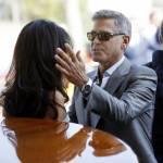 George Clooney e Amal Alamuddin: i promessi sposi sbarcati a Venezia (FOTO)