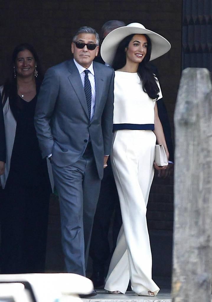 Matrimonio In Comune In Inglese : George e amal sposi l ufficializzazione delle nozze in