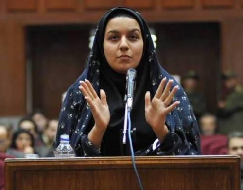 Reyhaneh Jabbari giustiziata: uccise uomo che la stava stuprando