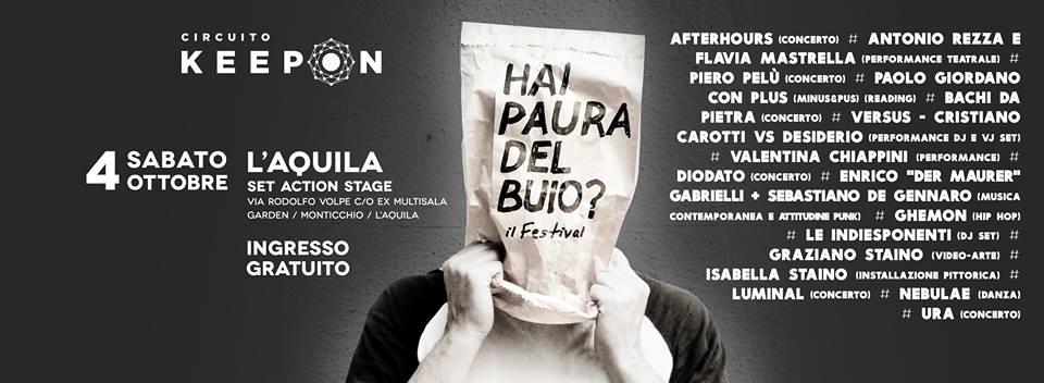 """Manuel Agnelli degli Afterhours: """"Un festival all'Aquila per non abbandonarla"""""""