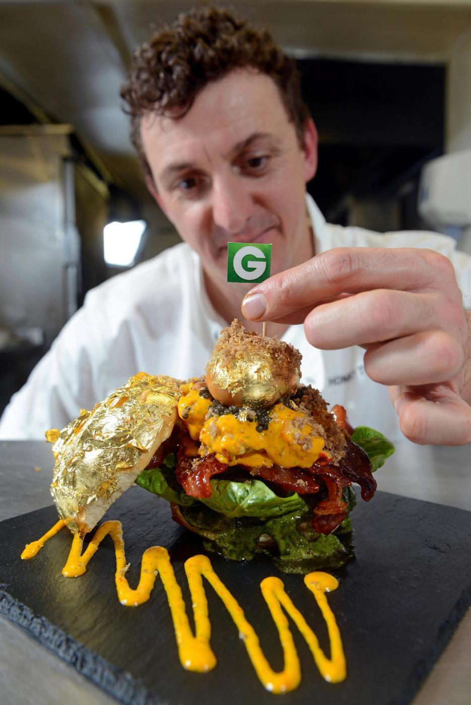 Glamburger, l'hamburger da 1400 euro è il più costoso del mondo01