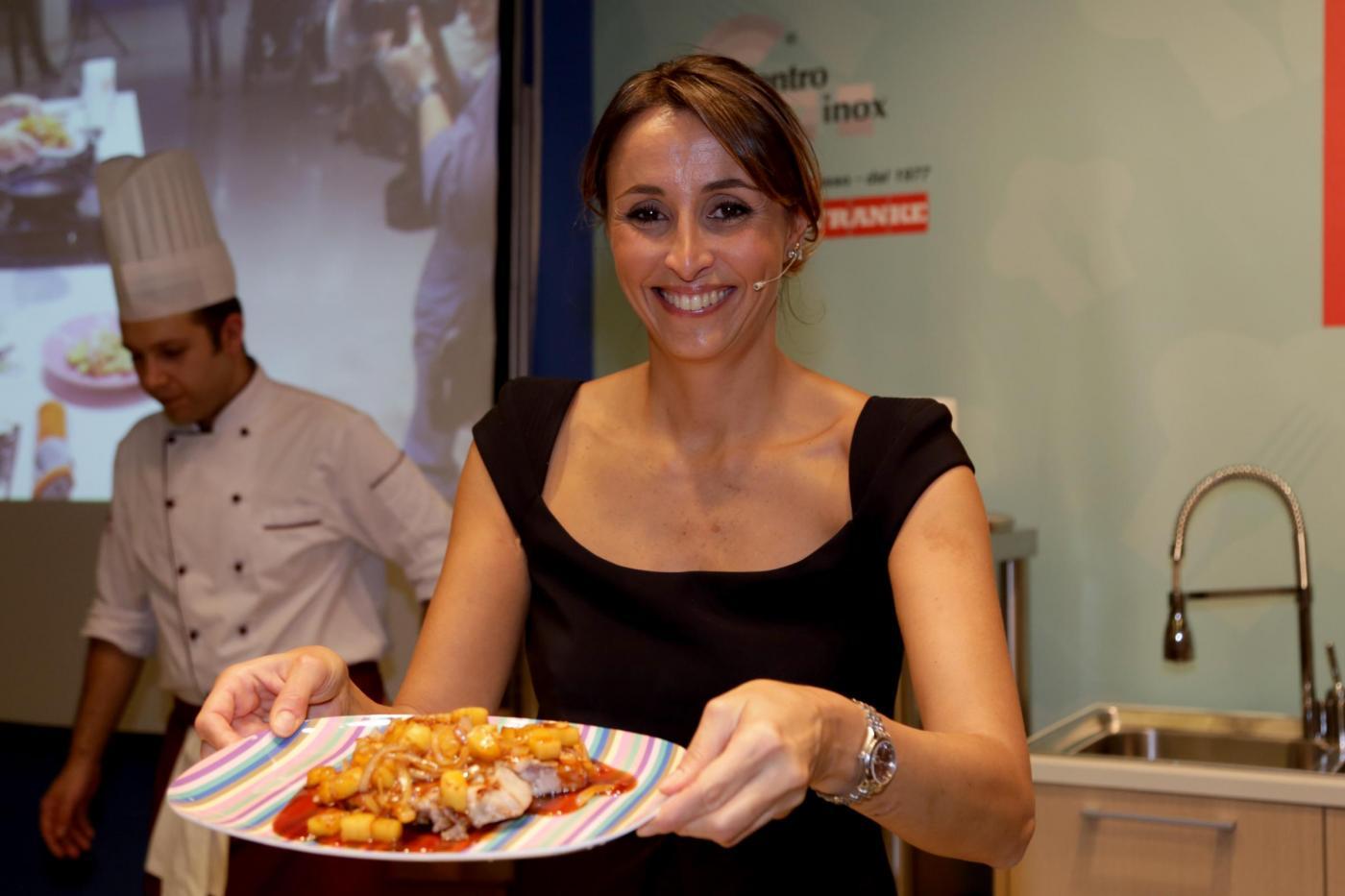 Benedetta Parodi show cooking a Firenze09