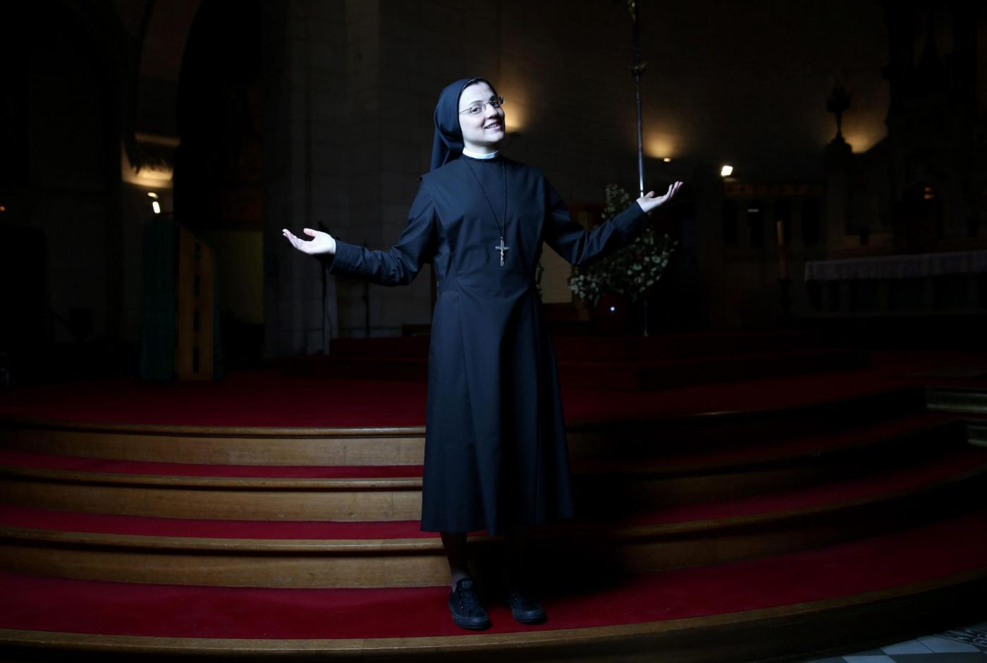 """Suor Cristina Scuccia canta """"Like a Virgin"""": Madonna apprezza: """"Sister for Life!""""6"""