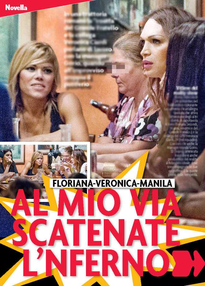 Floriana Secondi, Manila Gorio, Veronica Ciardi: rissa trash tra coatte