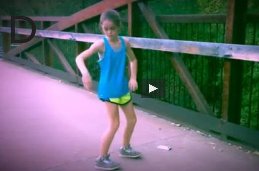 Adilyn Malcolm, 11 anni e il suo ballo ipnotico: 3 mln di clic in una settimana