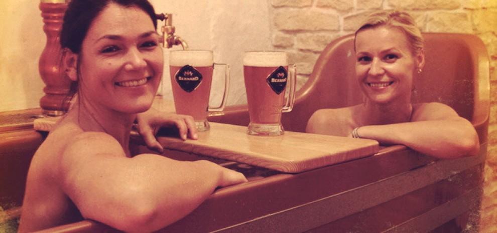 A Praga la Beer Spa: centro benessere a base di birra FOTO 04