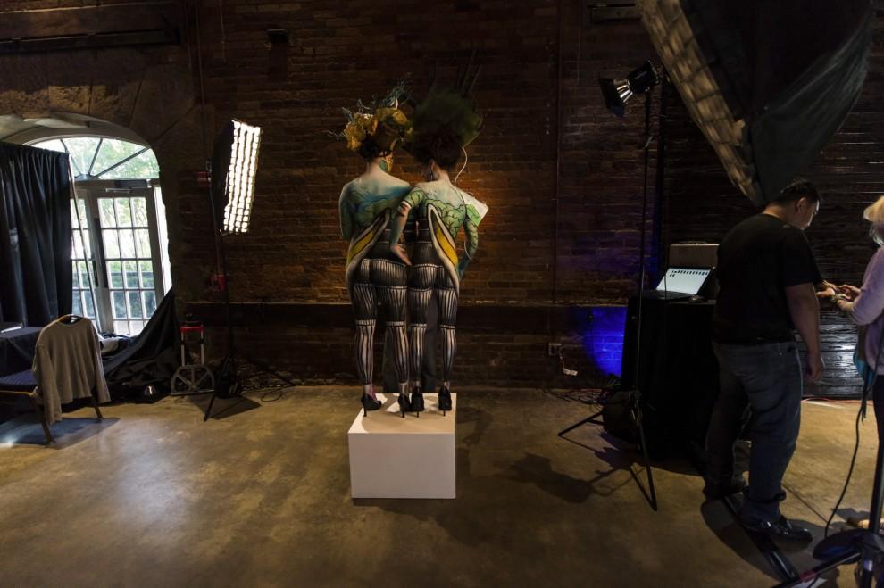 Body painting, i campionati: ad Atlanta arrivano gli alieni3