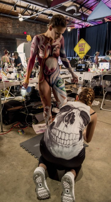 Body painting, i campionati: ad Atlanta arrivano gli alieni14