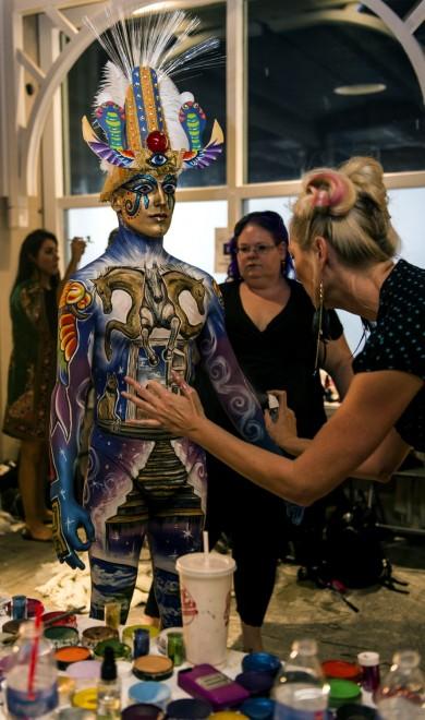 Body painting, i campionati: ad Atlanta arrivano gli alieni15