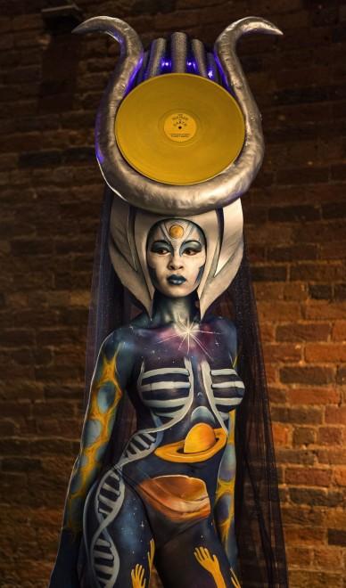 Body painting, i campionati: ad Atlanta arrivano gli alieni02