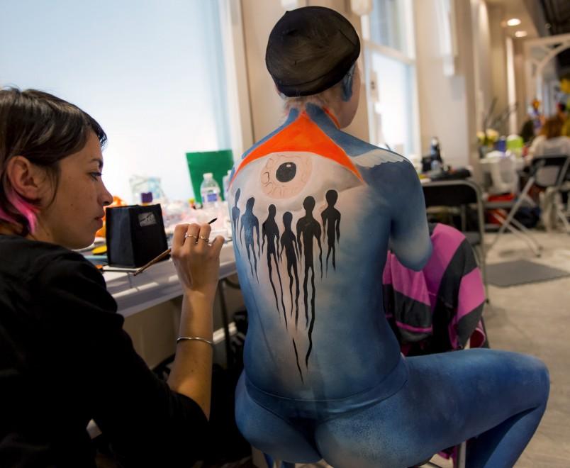 Body painting, i campionati: ad Atlanta arrivano gli alieni03