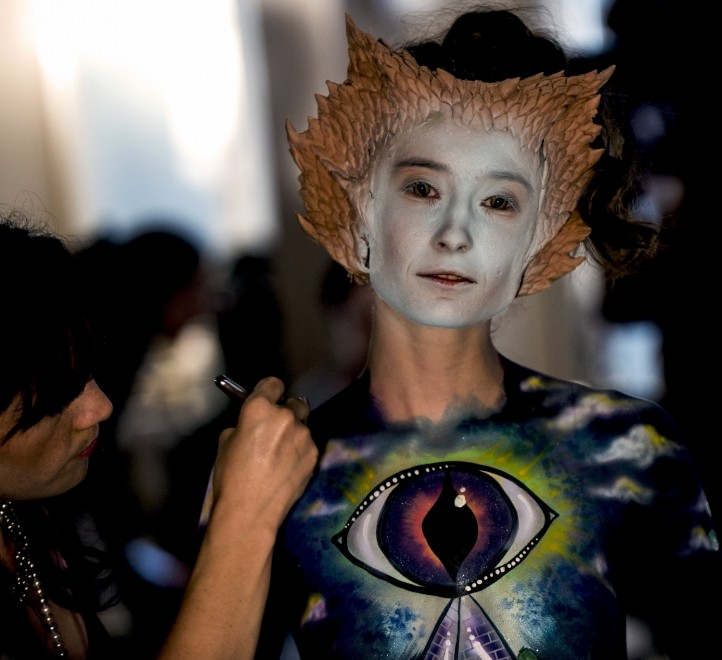 Body painting, i campionati: ad Atlanta arrivano gli alieni04