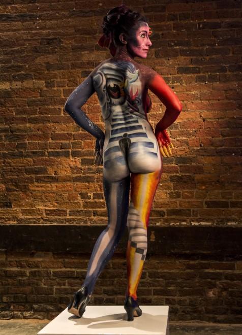 Body painting, i campionati: ad Atlanta arrivano gli alieni05