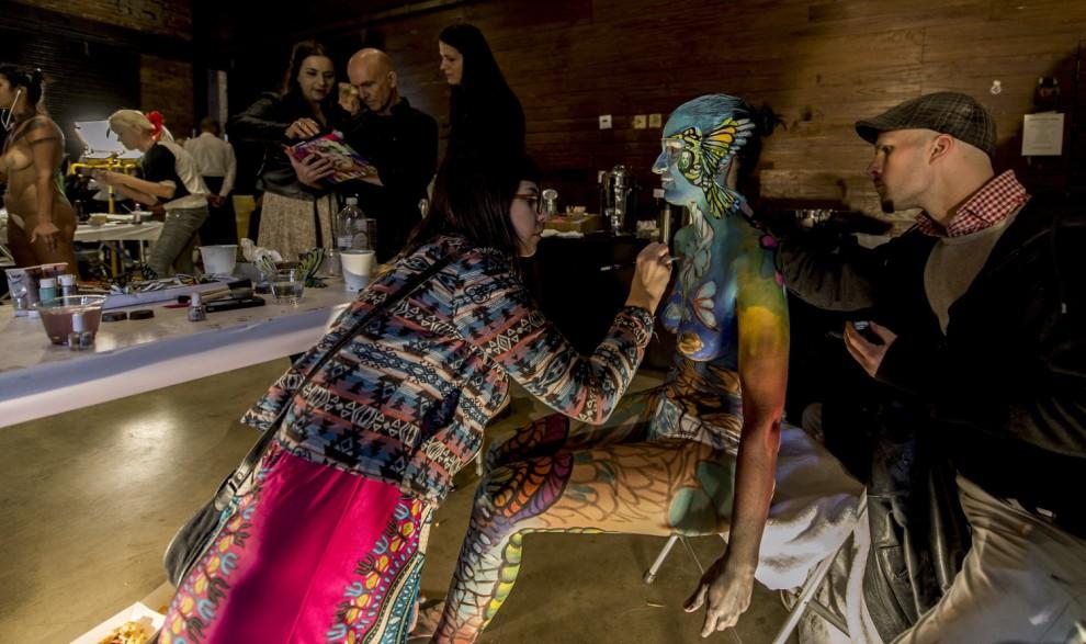 Body painting, i campionati: ad Atlanta arrivano gli alieni08