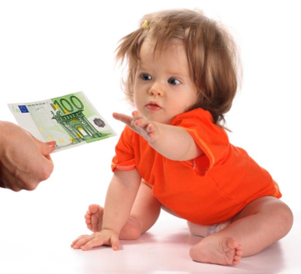 Bonus bebè di Renzi: 80 euro al mese anche per le neo-mamme