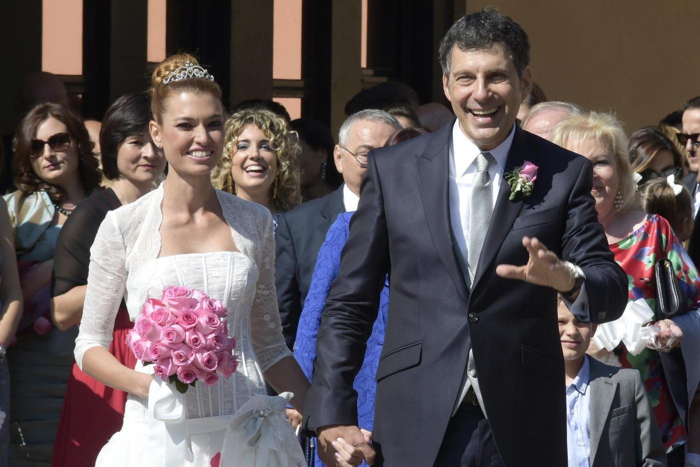 Fabrizio Frizzi sposa Carlotta Mantovan a Roma: le foto della cerimonia15
