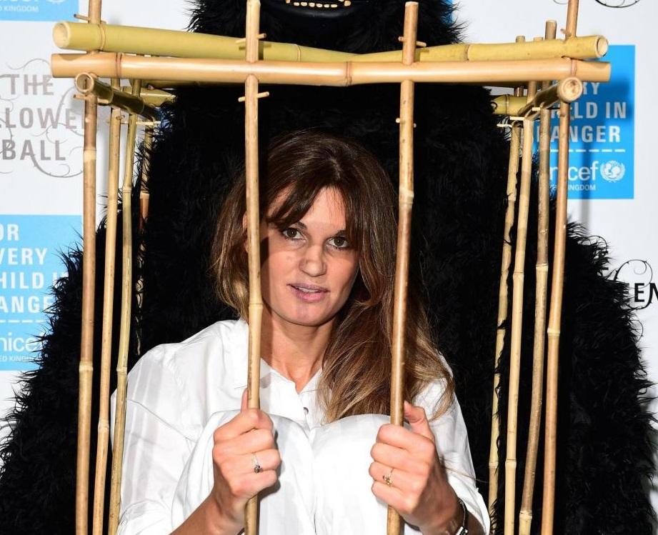 Festa Halloween Unicef: l'attivista Jemima Khan si chiude in gabbia