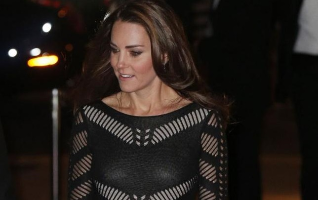Kate alla cena di gala Action on Addiction