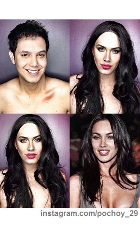 Megan Fox, Beyoncé, Lady D: Paulo Ballesteros è il genio del trasformismo FOTO01