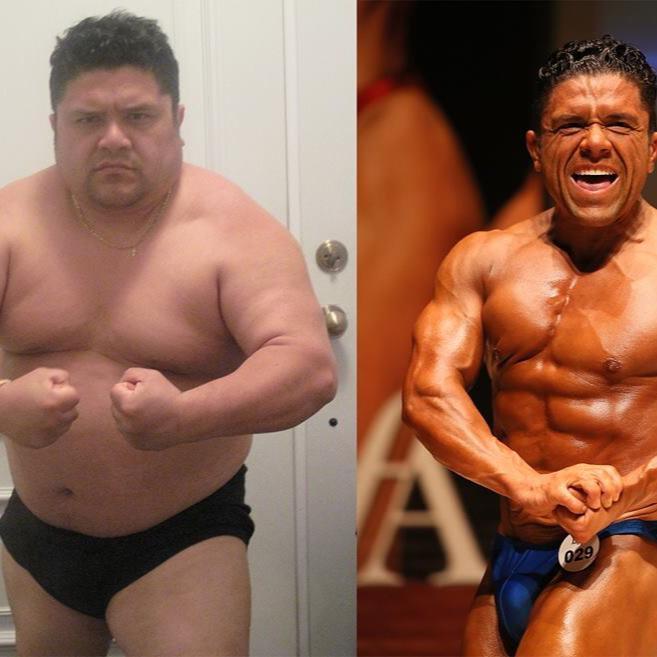 Enric Bellemare è obeso: perde 40 chili e diventa un bodybuilde