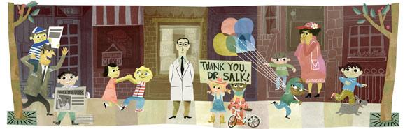 Google celebra Salk: creò il vaccino contro la poliomielite