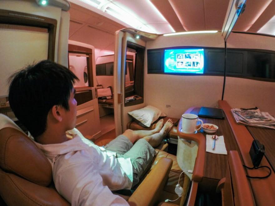 Da Singapore a New York nella suite extralusso da 14mila euro11
