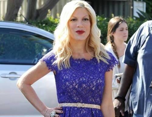 "Tori Spelling, ""Donna"" di Beverly Hills, in quarantena. Ebola? No, bronchite..."