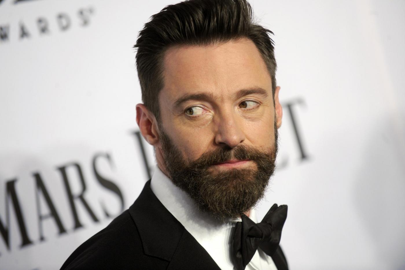 """Hugh Jackman, tumore alla pelle: """"Wolverine"""" operato per la terza volta"""