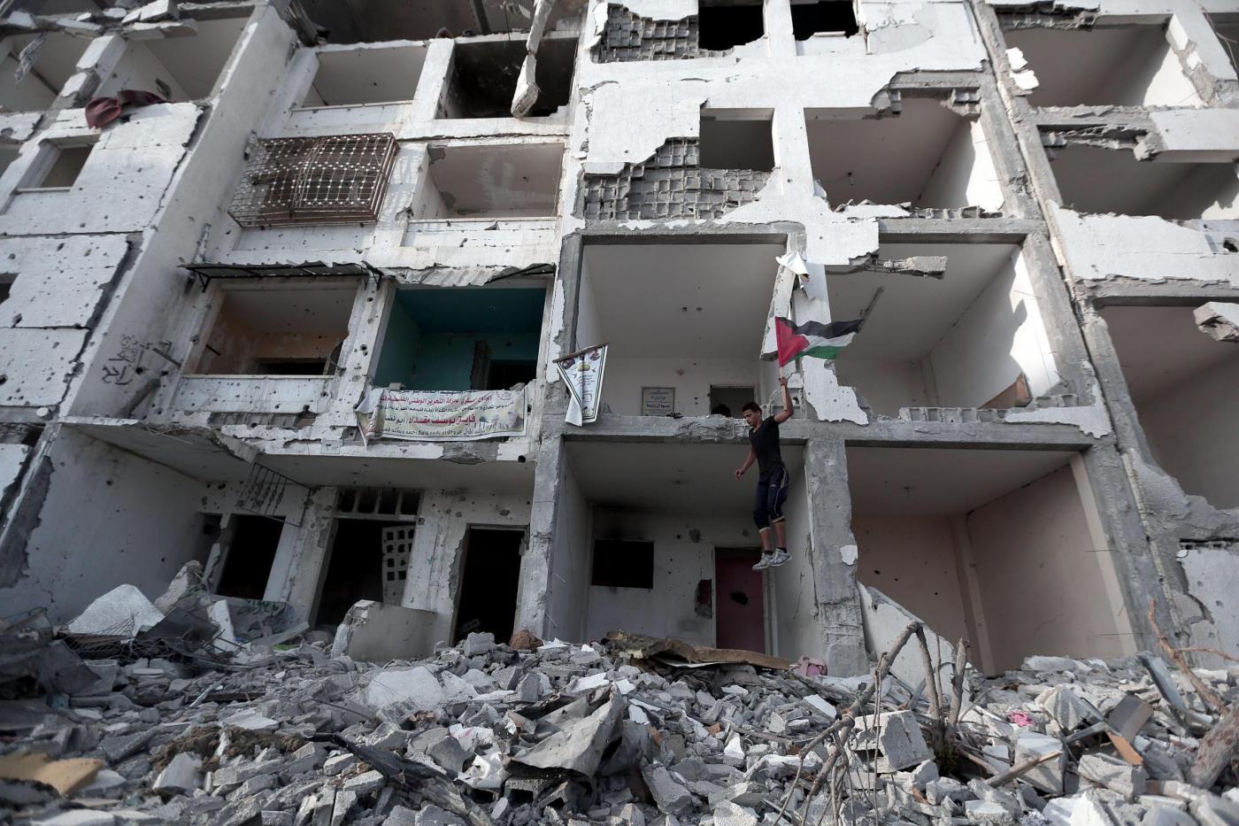 Parkour tra le macerie di Gaza City06