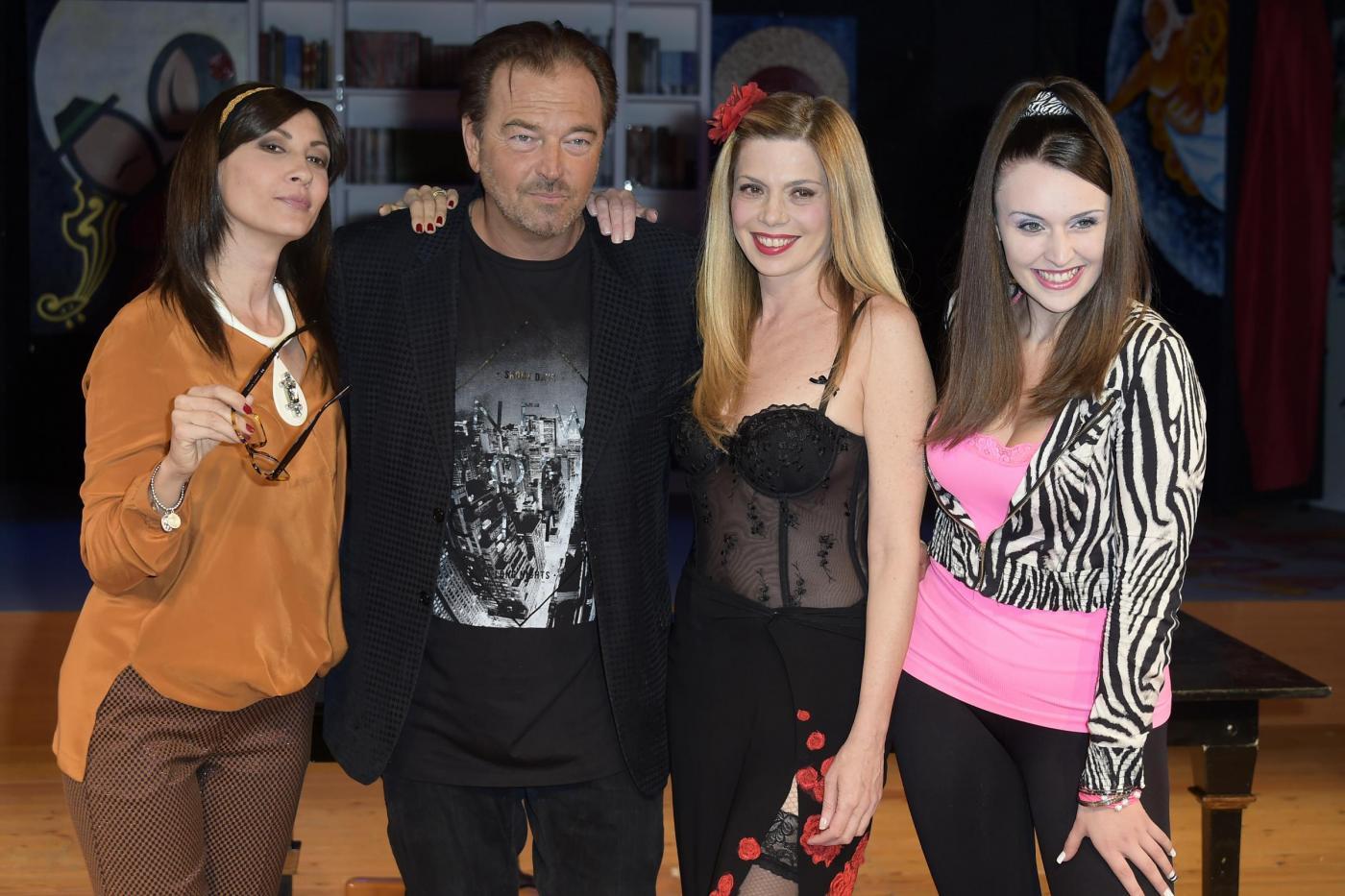 """Sebastiano Somma al teatro con """"Incubi d'amore"""" FOTO 08"""
