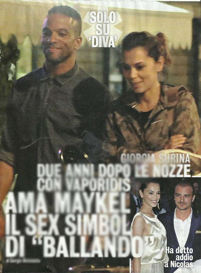 Giorgia Surina e il ballerino cubano: scoppia l'amore 01