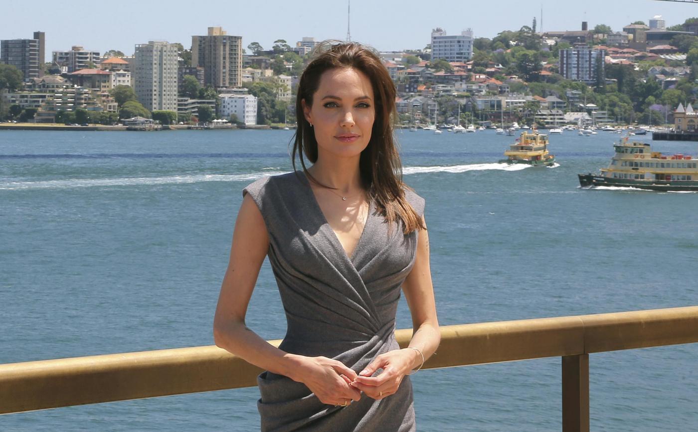 Angelina Jolie a Sydney per la conferenza del film ''Unbroken'' 05