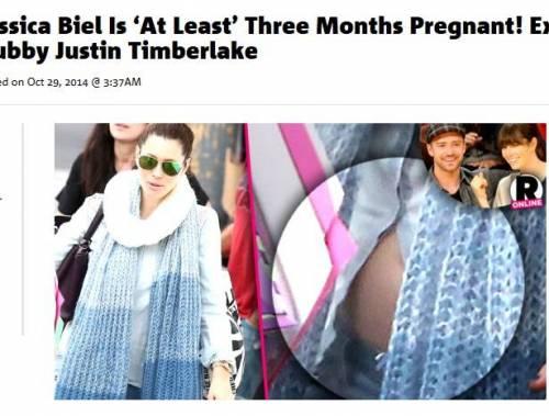 """Jessica Biel incinta di Justin Timberlake? """"Incinta di 3 mesi"""""""