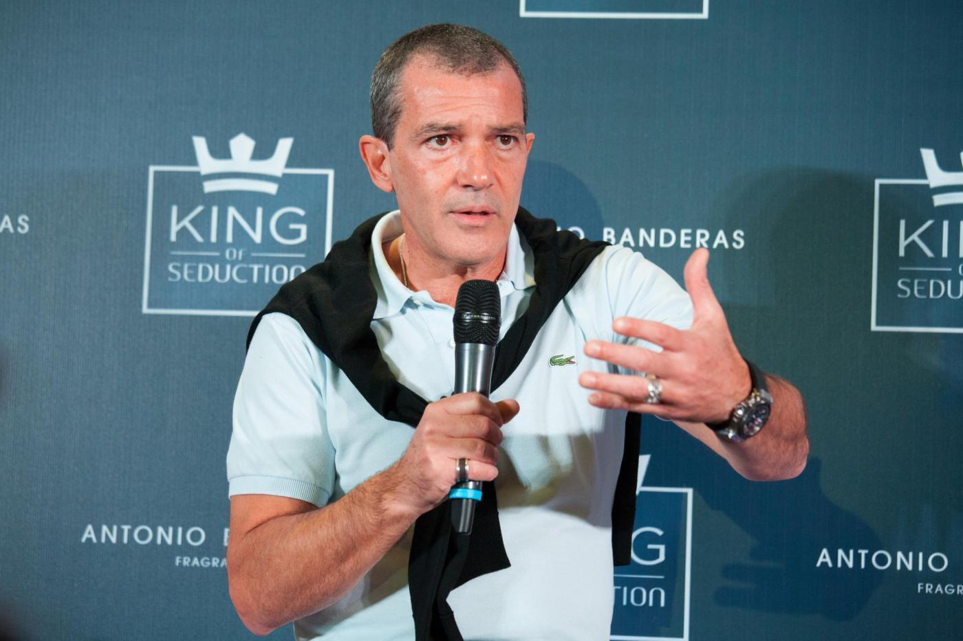 """Antonio Banderas presenta il profumo """"King of Seduction"""" in Argentina FOTO 01"""
