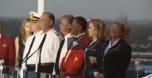 Love Boat i protagonisti tornano insieme per inaugurare nave da crociera VIDEO