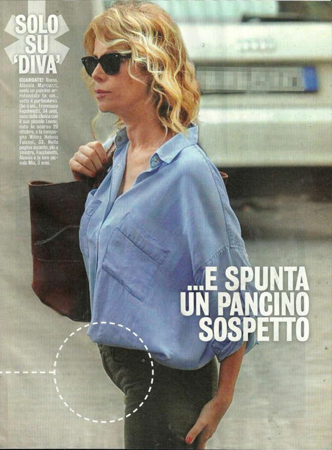 Alessia marcuzzi incinta pancino sospetto foto ladyblitz - Diva futura rome ...