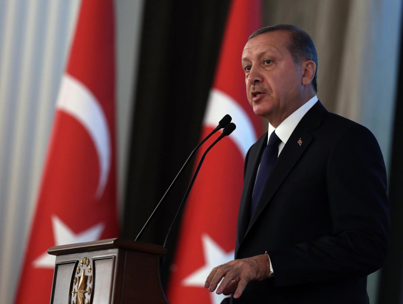 """Presidente turco Erdogan: """"Le donne non sono uguali agli uomini"""""""