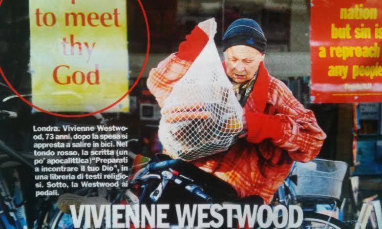 Vivienne Westwood, street stile bizzarro: sembra una senzatetto FOTO