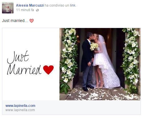 Matrimonio In Segreto : Alessia marcuzzi si è sposata con paolo calabresi matrimonio in