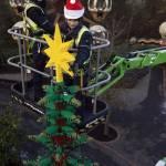 Albero di Natale realizzato con 300mila mattoncini della Lego01